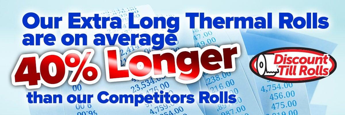 40% Longer Till Rolls