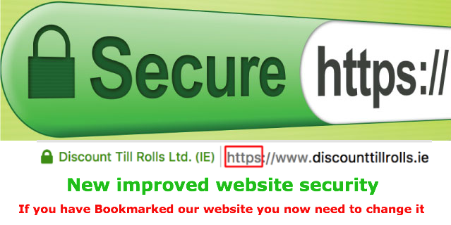 Website Improved Security ... https://www.discounttillrolls.ie/