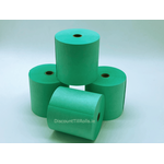 76x76mm Green Wet Strength Laundry Paper Rolls (20 rolls)