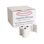 Ingenico iWL252 Credit Card Rolls.  www.DiscountTillRolls.ie