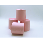 76x76mm Pink Wet Strength Laundry Paper Rolls (20 rolls)