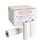 112x48mm Direct Thermal Paper Rolls