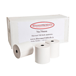 76x70mm Thermal Receipt Paper Rolls (20 Roll Box)