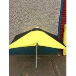 Black/Yellow Rails Bookmakers Square Black / Yellow Racecourse Umbrella ... www.DiscountTillRolls.ie