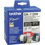 Brother DK11208 Labels - Large 38 x 90mm .. www.TillRolls.ie