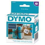 DYMO S0929120 Labels - 25 x 25mm (1 Roll - 750 Labels)