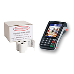 Ingenico Move 5000 Ingenico Credit Card Machine Paper.  www.DiscountTillRolls.ie
