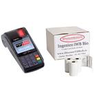 Ingenico iWB Bio Credit Card Rolls.  www.DiscountTillRolls.ie