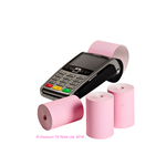 57x40mm Pink Coreless Thermal Till Rolls (20 Roll Box)