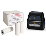 ZEBRA ZQ520 Direct Thermal Rolls .. www.DiscountTillRolls.com