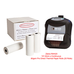 Zebra RW420 Direct Thermal Paper Rolls (20 Rolls) 3003072