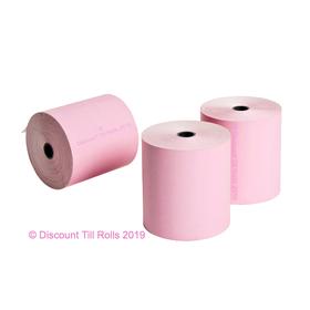 80x80 Pink Thermal Rolls (20 Roll Box)