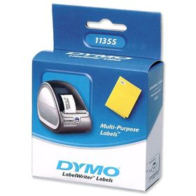DYMO 11355 Multi Purpose Labels 28x51mm (1 Roll - 500 Labels)