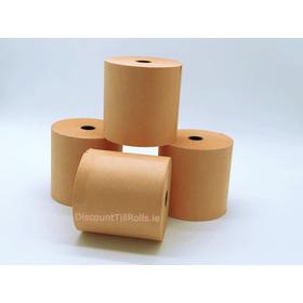 76x76mm Orange Wet Strength Laundry Paper Rolls (20 rolls)