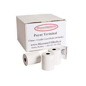 Poynt Smart PDQ Thermal Rolls (50 Roll Box)