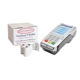 VeriFone VX680 Credit Card PDQ Rolls (50 Roll Box)