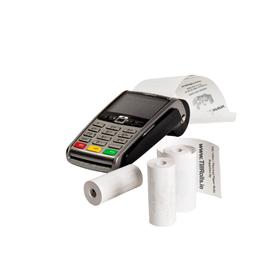 57x25mm Coreless Credit Card PDQ Rolls (50 Roll Box)