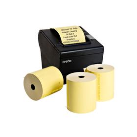 80x80 Yellow Thermal Till Rolls (20 Roll Box)
