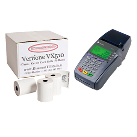 Verifone VX510 Credit Card Till Rolls (50 Roll Box)