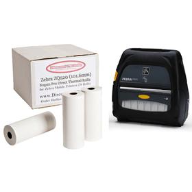 ZEBRA ZQ520 101.6mm Direct Thermal Rolls